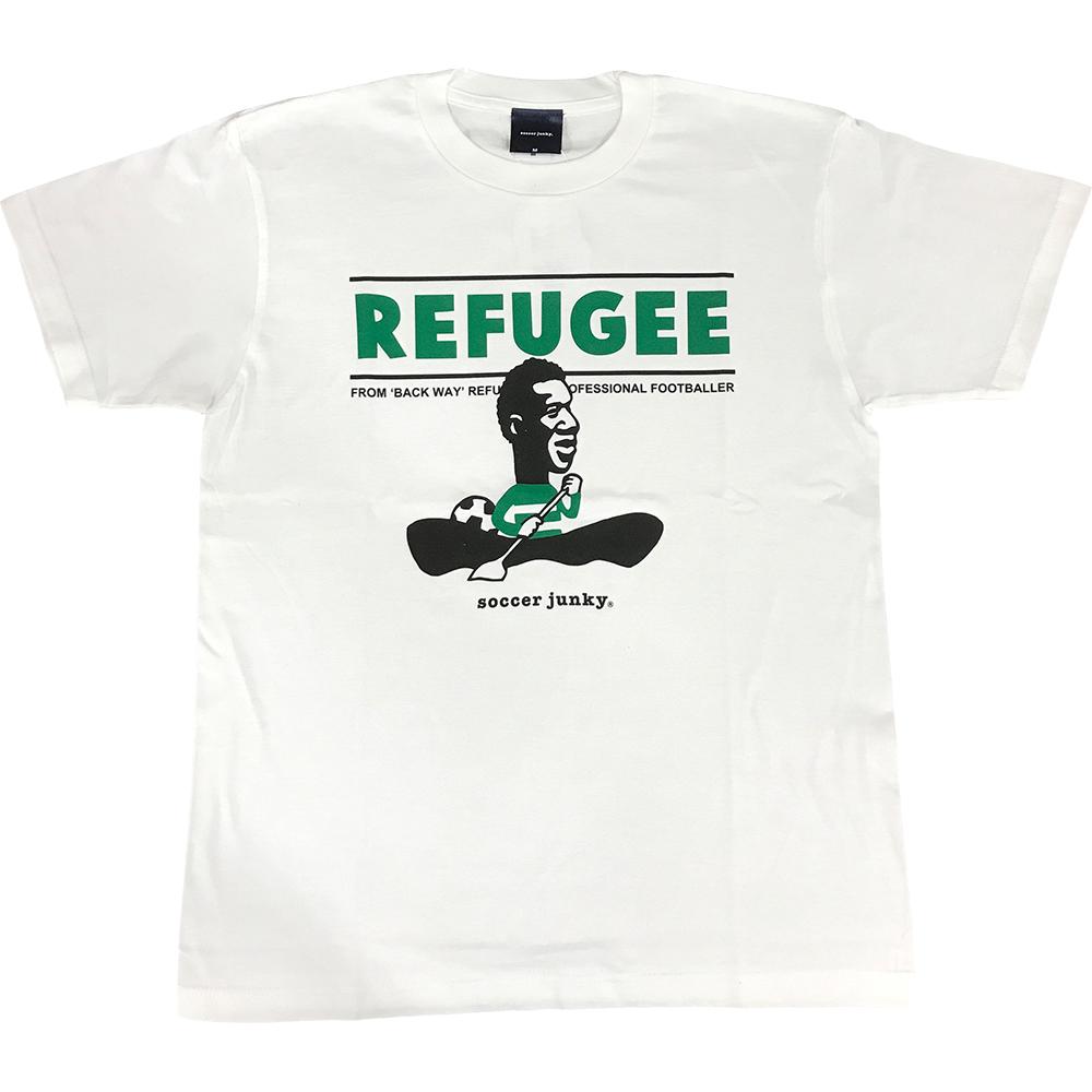 難民からプロサッカー選手へ