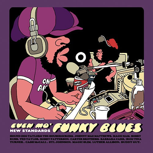 Even mo' Funky Blues New Standards P-vine Records