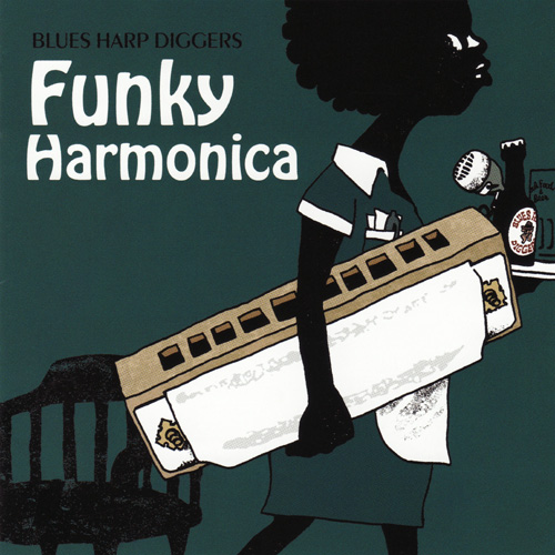 Funky Harmonica Blues harp Diggers