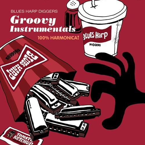 Groovy Instrumentals Blues harp Diggers