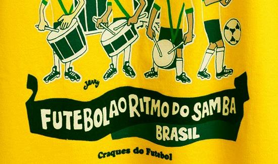 FUTEBOL AO RITMO DO SAMBA