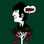 John Lennon on Apple Tree