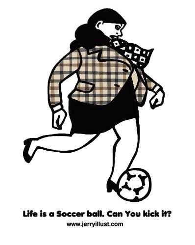 サッカー好きのOL
