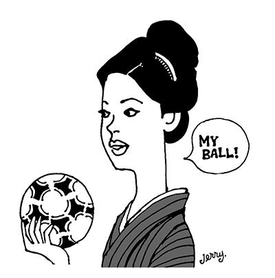 和風フットボール