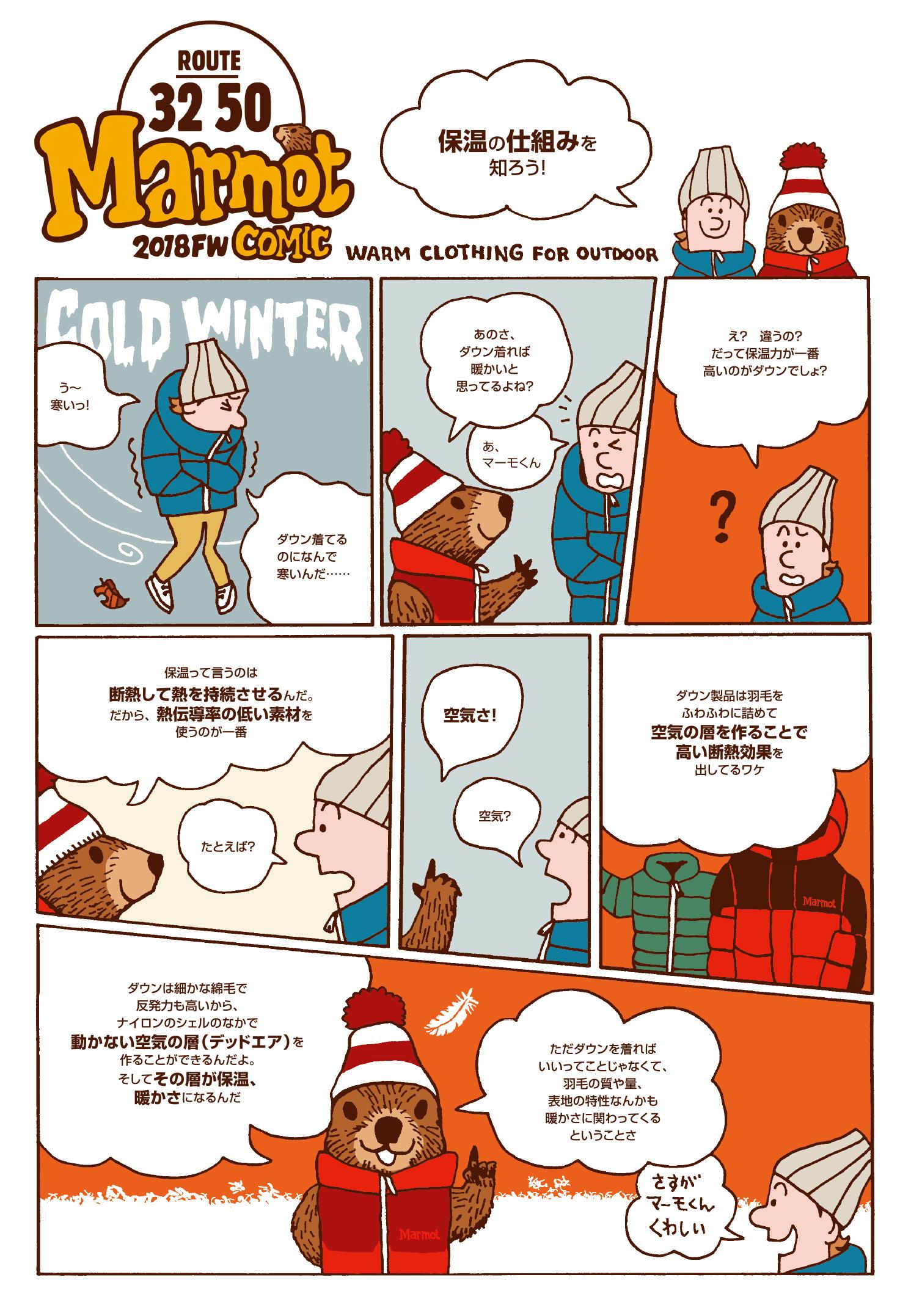 マーモット32-50コミック