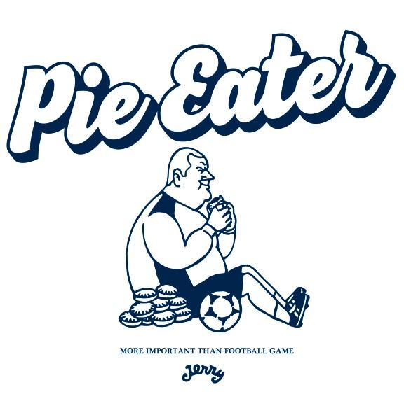 パイを食う選手